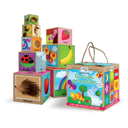 Eco-cubes de la nature
