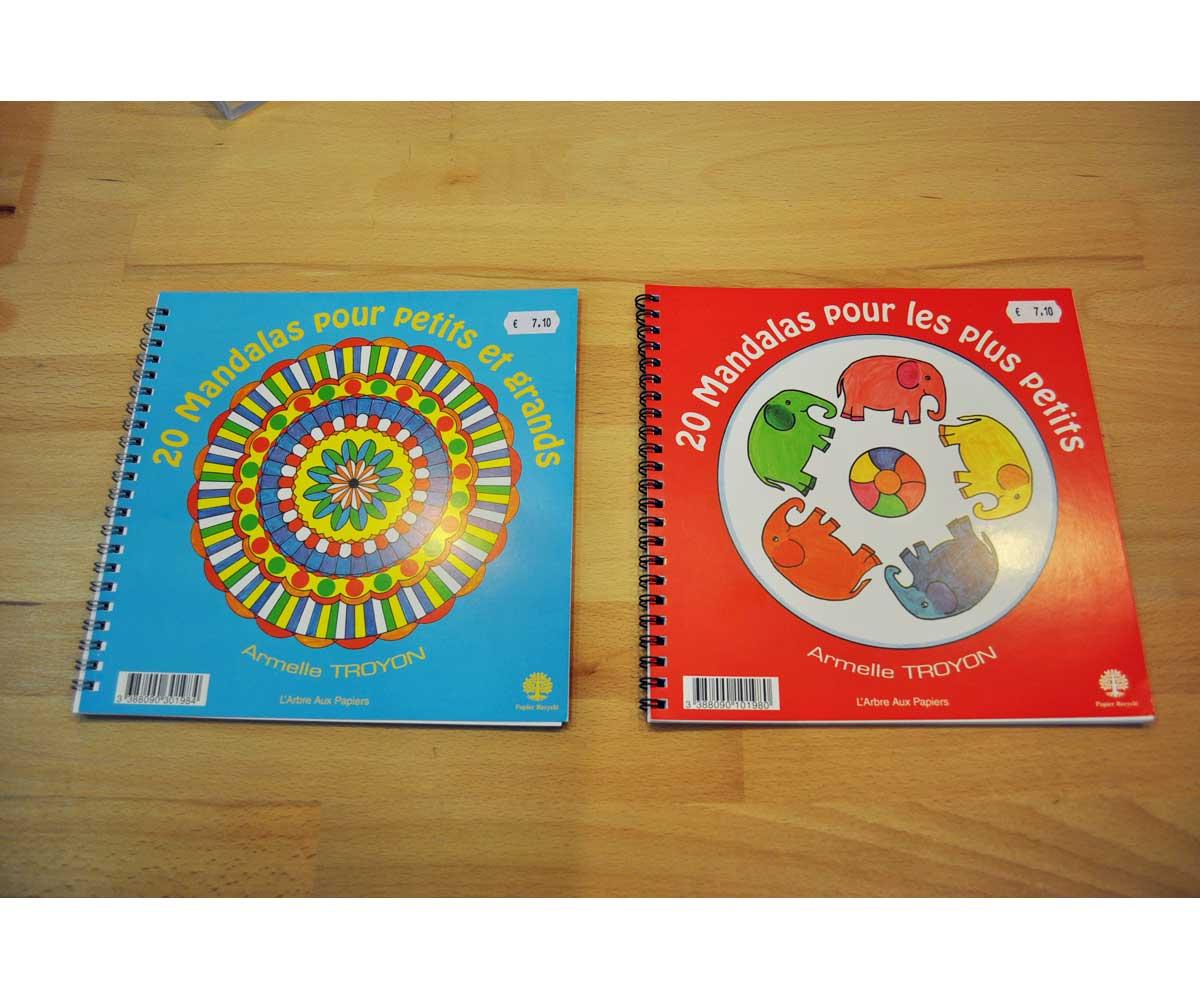 Cahier de coloriage et mandalas