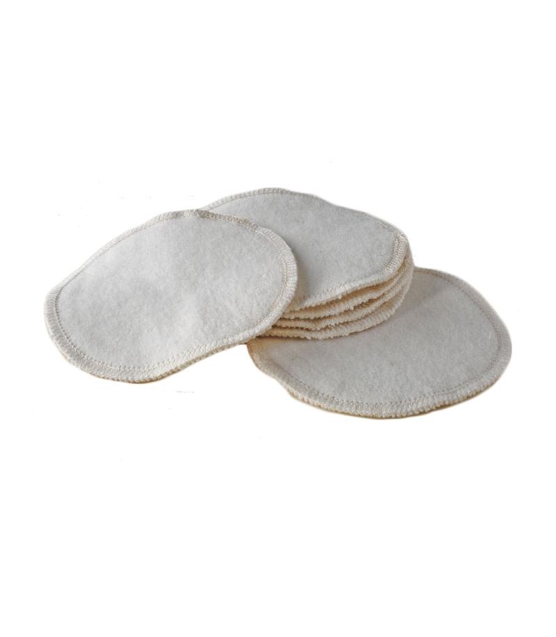 coussinets d'allaitement réutilisable coton bio à Lyon
