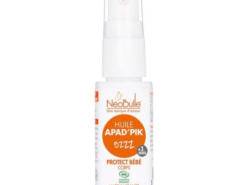 magasin huile protection bébé moustique