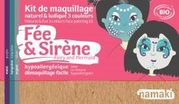 Maquillage Fée et sirène