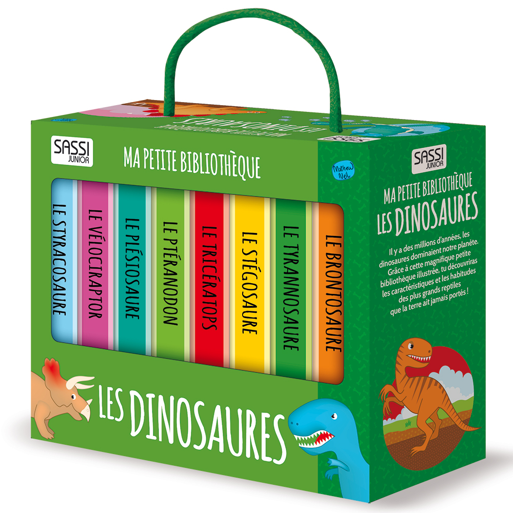 livres solides Dinosaures