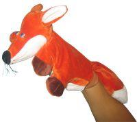 marionnette  à 5 doigts renard