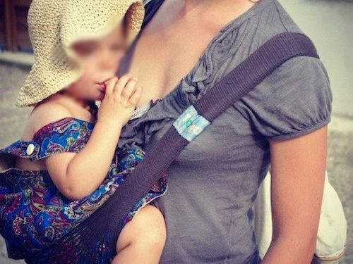 tonga fit Lyon porte bébé