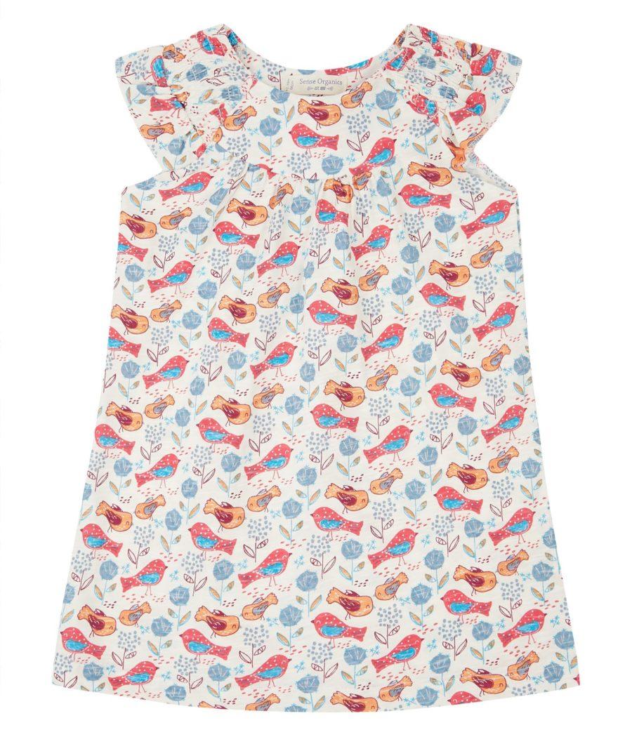 robe d'été enfant en coton bio à Lyon