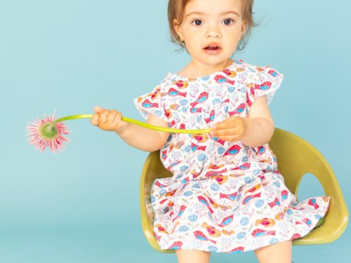 robe légère d'été en coton bio Lyon