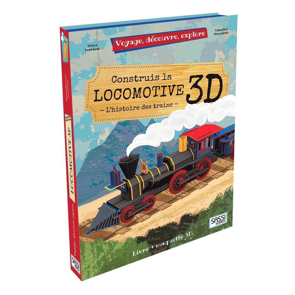 livre+maquette locomotive 3D
