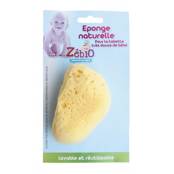 Eponge naturelle bébé